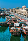 Sharjah - third largest and most populous city in UAE. SHARJAH, UAE - OCTOBER 28: Sharjah - third largest and most populous city in United Arab Emirates, on Stock Photo