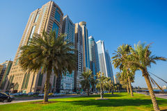 Sharjah - third largest and most populous city in UAE Stock Photos
