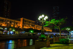 Sharjah - third largest and most populous city in UAE Royalty Free Stock Photography