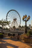 Sharjah - third largest and most populous city in UAE. SHARJAH, UAE - OCTOBER 28: Sharjah - third largest and most populous city in United Arab Emirates, on Stock Photography