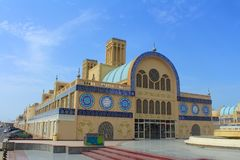 Sharjah, United Arab Emirates. The Central Souk, differently Blue Souk or Gold souk - market in Sharjah. SHARJAH, UNITED ARAB EMIRATES - March 28, 2017: The royalty free stock photography