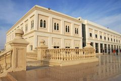 Sharjah university. College building in Sharjah university Stock Images