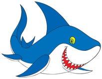 Shark. Smiling great white shark Royalty Free Stock Photo