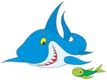 Shark. Vector clip-art / children's illustration for your design Stock Image
