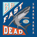 SHARK AREA. Drawing Stock Image