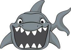 Shark attack cartoon Stock Photos