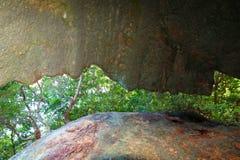 Shark Bay Caves Tortola Stock Image