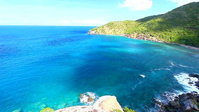 Shark Bay National Park Virgin Islands stock video