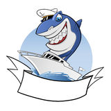 Shark Boat Royalty Free Stock Photography