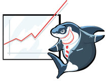 Shark of business Stock Photos