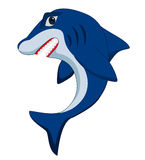 Shark Cartoon Royalty Free Stock Photo
