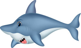 Shark cartoon character Royalty Free Stock Photo