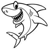 Shark Cartoon Drawing Royalty Free Stock Images