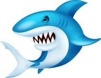 Shark cartoon. Illustration of Shark cartoon royalty free illustration