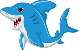 Shark cartoon isolated Stock Images