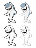 Shark cartoon Royalty Free Stock Photo