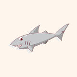 Shark cartoon theme elements vector,eps Royalty Free Stock Photo