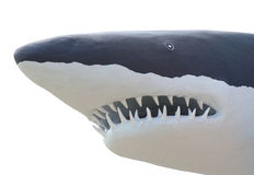Shark from concrete Stock Image
