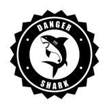 Shark design Stock Images