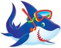 Shark diver Stock Photos