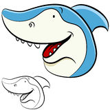 Shark Face Stock Images