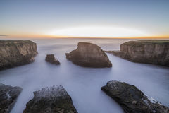 Shark Fin Cove. Near Bay Area California by Monterrey royalty free stock photo