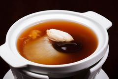 Shark fin foods. Fin soup shark background chinese food Royalty Free Stock Image