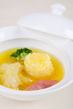 Shark fin soup Royalty Free Stock Photos
