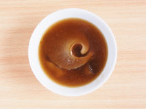 Shark fin soup Royalty Free Stock Photo