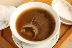 Shark fin soup Stock Image