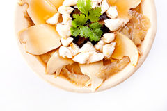 Shark fin soup, Chinese food Stock Images