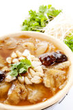 Shark fin soup, Chinese food Royalty Free Stock Photo