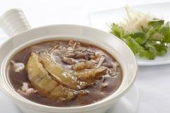 Shark fin soup Stock Photos