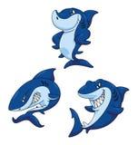 Shark Funny Cartoon Royalty Free Stock Image