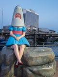 Shark Girl Buffalo Canalside Stock Photography