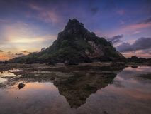 Shark Hill, Lombok stock photography