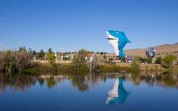 Shark Hot Air Balloon Royalty Free Stock Photos