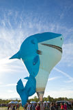 Shark Hot Air Balloon Royalty Free Stock Photo