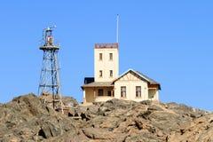 Shark Island Light House - Luderitz, Namibia Stock Photography