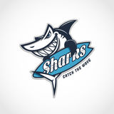 Shark mascot Stock Photo