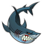 Shark mascot Royalty Free Stock Image