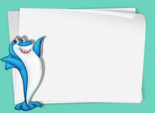 Shark paper Royalty Free Stock Photography