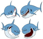 Shark set. Royalty Free Stock Photography