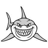 Shark Smile Illustration Stock Photos
