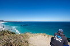 Shark spotter at Noordhoek Royalty Free Stock Photo