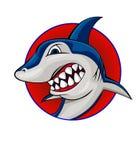 Shark symbol Royalty Free Stock Photos