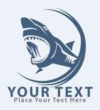 Shark symbol. Illustrator design .eps 10 Stock Photos