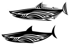 Shark tattoo Royalty Free Stock Photography