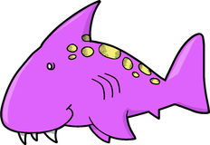 Shark Vector Illustration Royalty Free Stock Photos