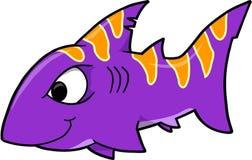 Shark Vector Illustration Royalty Free Stock Photos